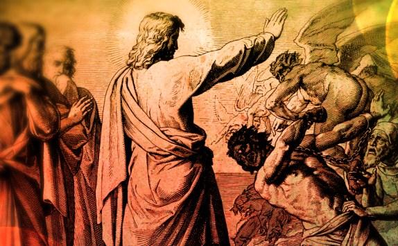 jesus teaching on satan and the