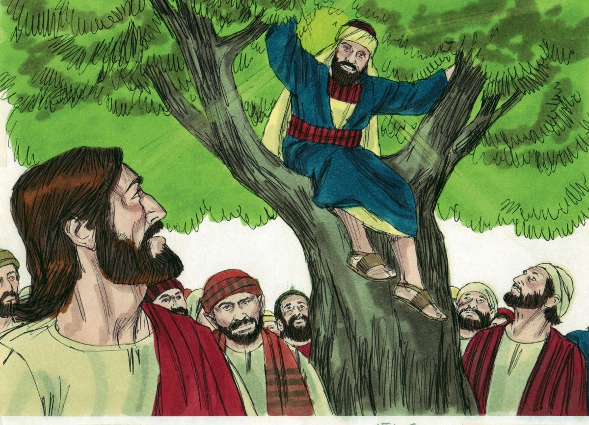 the story of jesus and zacchaeus luke 19110