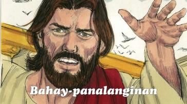 """Sinabi niya sa kanila, """"Sinasabi ng Dios sa Kasulatan, 'Ang aking bahay ay bahay-panalanginan.' Ngunit ginawa ninyong pugad ng mga tulisan!"""""""