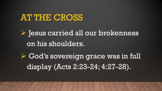 cross sovereign grace