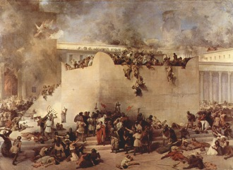 temple-destruction-70-ad-francesco_hayez-painting