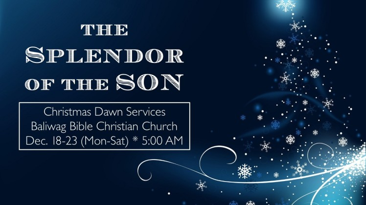 2017 Christmas Services